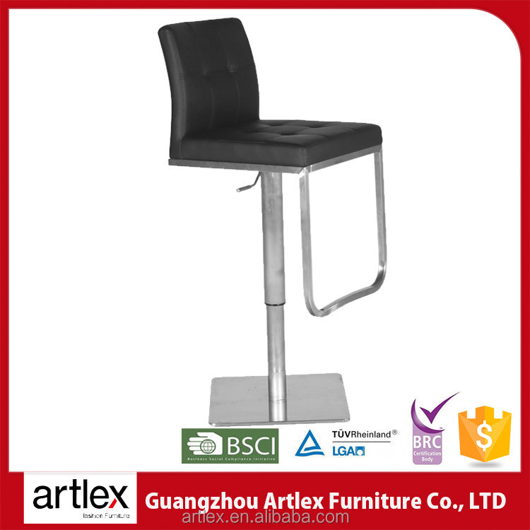 High qulity modern colorful high chair bar chairs pu leather sex bar stool