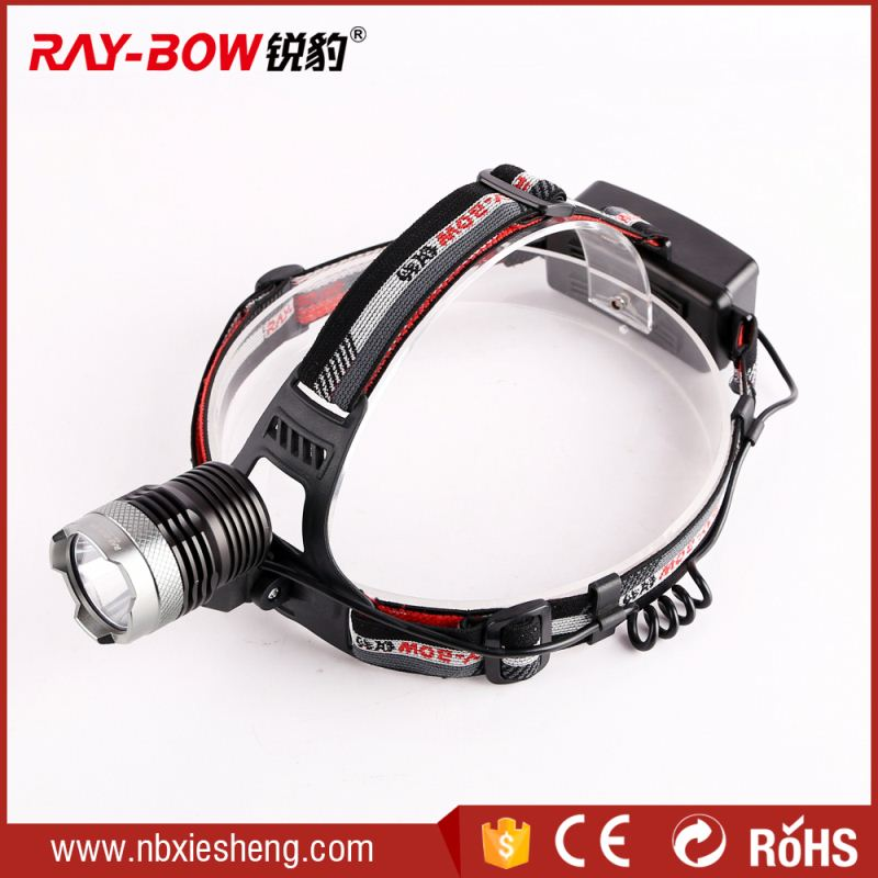 1*18650 Q5 XRE High bright waterproof hunting mining prospecting headlamp