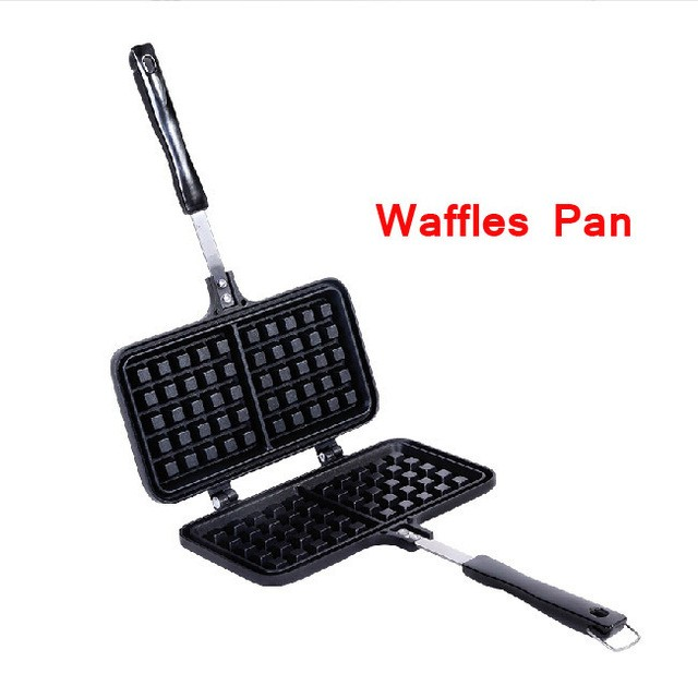 CP17 Non-stick Fryer Pan Double Side Waffles Grill Fry Pan
