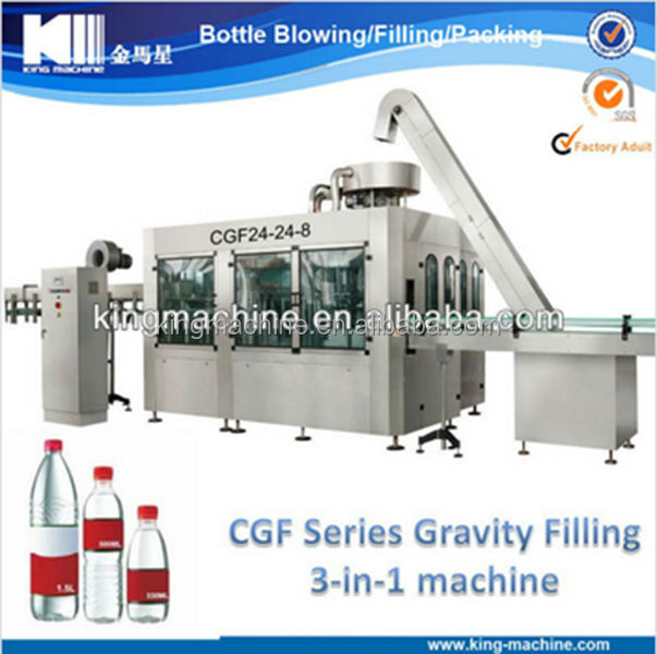 Electric Driven and Automatic Complete mineral water Filling Machine / production