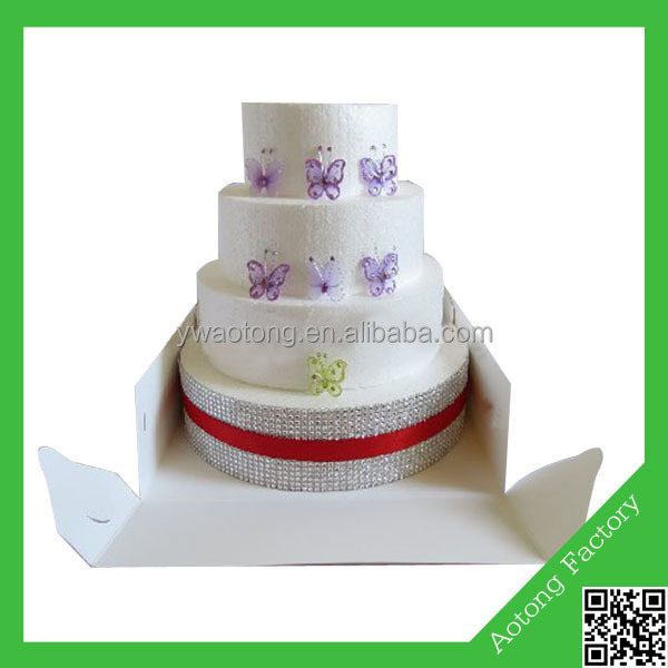 New Wedding Cake Boxes Design G Ivory Board White Inch Tall