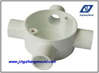 PVC Injection Electrical Box Pipe Fitting Molding