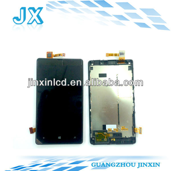 original lcd For Nokia Lumia 820 new display
