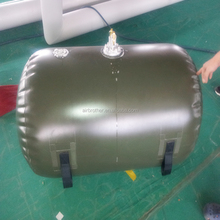 TPU/PVC inflatable soft water storage bag/ accumulated dirt bag