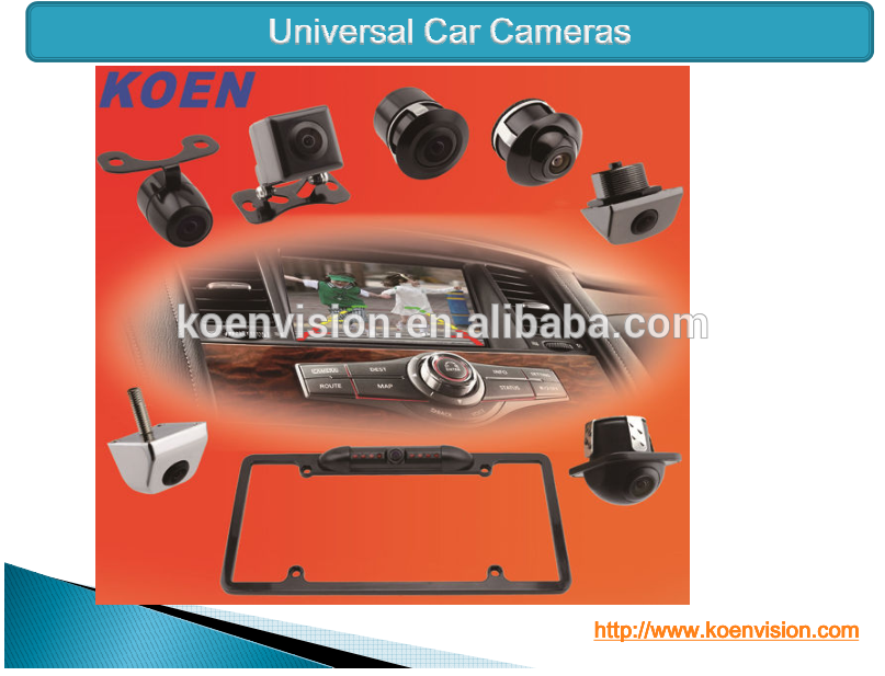 Infrared Night Vision CMOS/ CCD Car Rearview Dynamic Track Camera