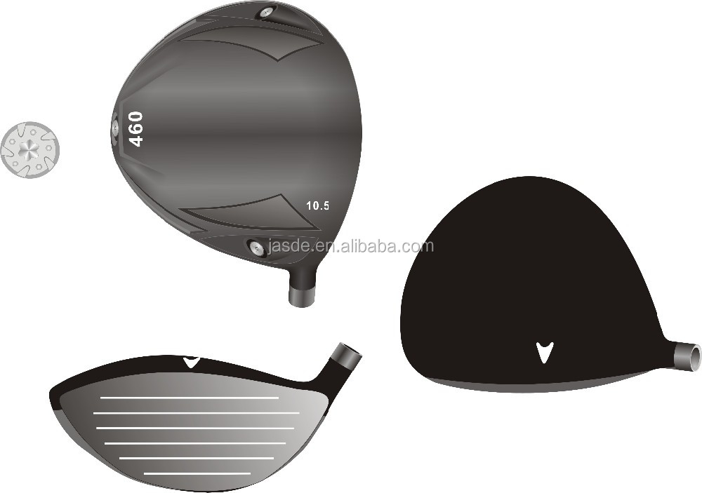 460cc Forged Titanium Custom Golf Driver