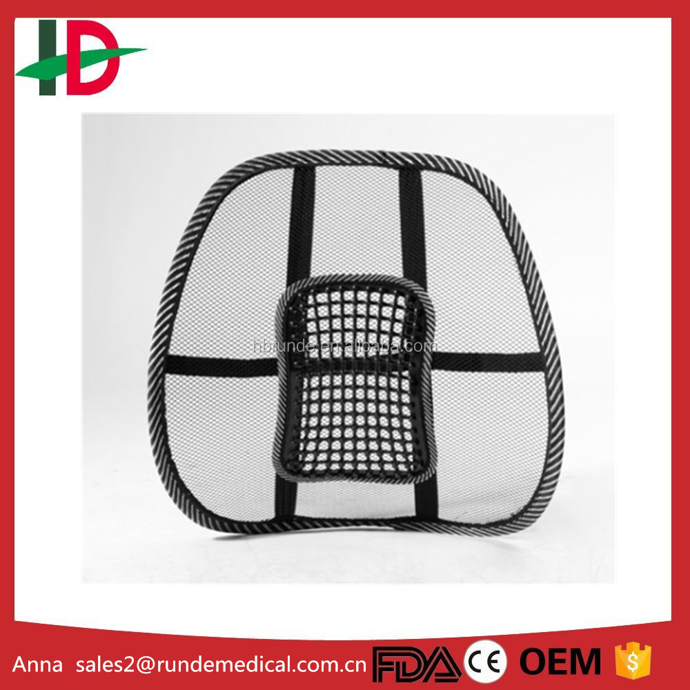 mesh chair back support cushion