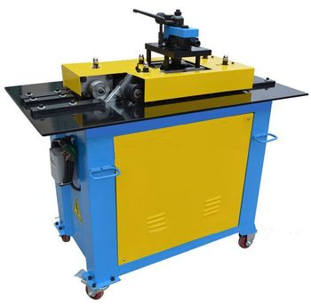 SA-12HB lockformer machine,multi-function  equipment rectangular tube pittsburgh lock forming machine used for duct line