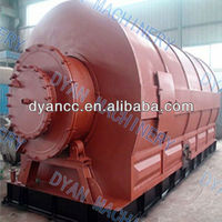 Tyre Plastic Rubber Waste Recycling Machine To Fuel Diesel Oil Superior Quality