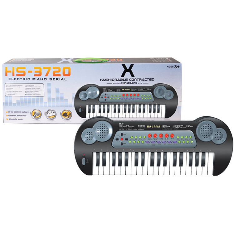 Plastic Educational Toy Musical Instrument Electric Piano For Children