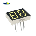 Production fast two digit 0.67inch small white color seven segment LED display