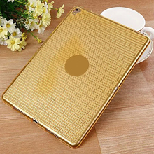 Diamond pattern shell TPU soft tablet case for ipad pro 9.7inch