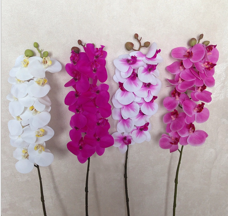 Individual mini artificial silk flowers for sale