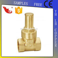 LB-Guten Top Water Hot Selling High Quality Brass Gate Valve Oem without handwheel