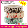 backing saturant good instant adhesion masking tape,decorative washi paper tape with good quality SGS