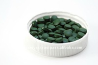 Organic Spirulina and Chlorella 500mg Tablets