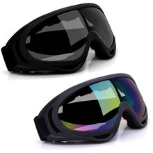 Clear lens over glasses ski motorcycle goggles wind glasses