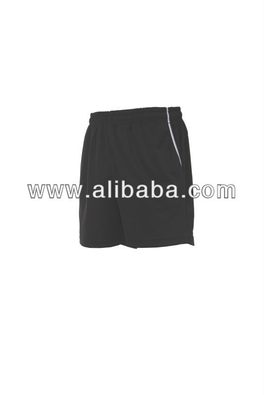 Men's 100% polyester knitted short pants
