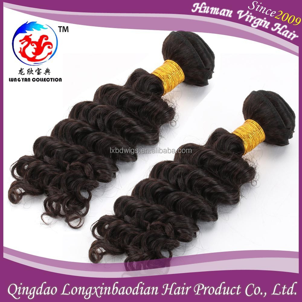 Deep wave philippine hair weave, wholesale unprocessed hair extensions, cheap virgin philippine human hair weft