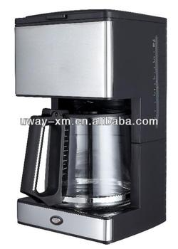 Automatic Electric Coffee Maker : 1.2l Automatic Electric Espresso Coffee Maker With Grinder/home Coffee Machine - Buy Home Coffee ...