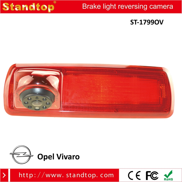 170 Degree DC12V Third Brake Light Backup Camera for 2014 Opel Vivaro / 2014 Renault Trafic vans