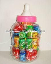 beverage/drink zip-top can cameras in baby bottle toy candy
