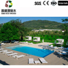 Outdoor China Cheap solid Wood Plastic Composite Decking anti-uv wpc decking board