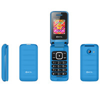 2G Network 1.77inch Dual Sim Whatsapp Flip Feature Mobile Phone