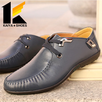 Leather Driving Shoes Mens Loafers Male Boat shoes Zapatos Hombre