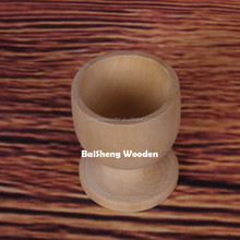 Classic Wooden Egg Cup Holder Plain Wooden Egg Stand Holders