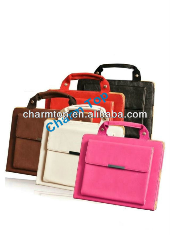 Handbag Leather Case For iPad Mini
