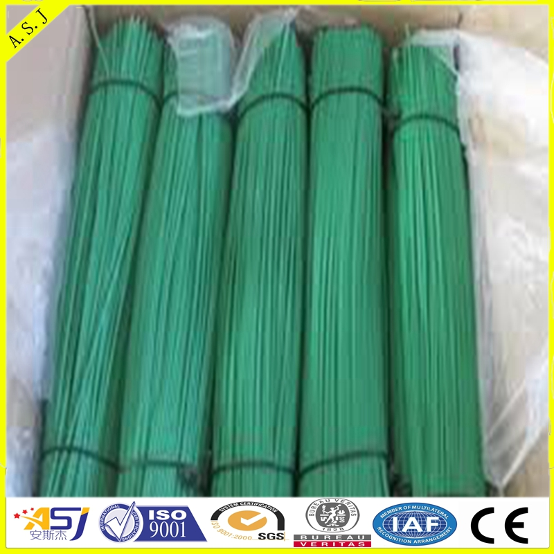 galvanited and pvc coated Straight Cut Iron Wire