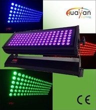 108 pcs 3W leds Waterproof LED RGBW Wall Washer IP65