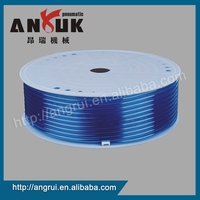 Manufacturers custom blue anti vibration polyurethane tube,pu tube