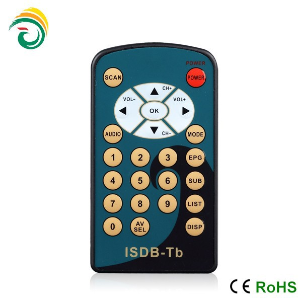 digital satellite receiver remote control with ultrathin design waterproof function