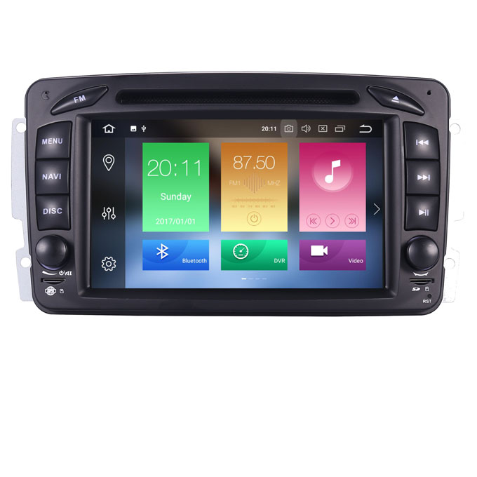Android Car GPS for Mercedes Benz W209 W203 W168 ML <strong>W163</strong> W463 Viano W639 Vito Vaneo Wifi 3G GPS Bluetooth Radio OBD Mirror Link