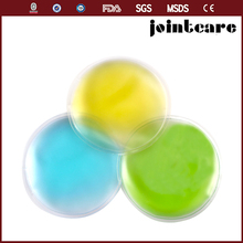 reusable mini gel liquid ice packs, round pocket hot cold pack
