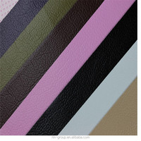 lichi grain PVC leather automotive upholstery leather