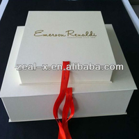 Fashion super quality paper matt boxes wedding dress packing gift paper box customized