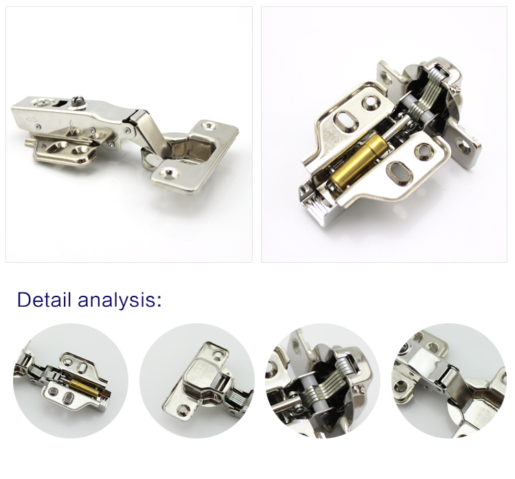 wholesale heavy duty kitchen cabinet adjustable hydraulic soft close hinges stainless steel cabinet hinge