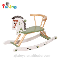 Wholesale china import children toy wooden rocking horse