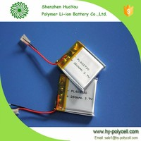 China supplier provide rechargeable 3.7v 2600mah lipo battery from Shenzhen