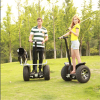 CHIC-GOLF 1000watts battery powerful big wheel kick scooter for adults