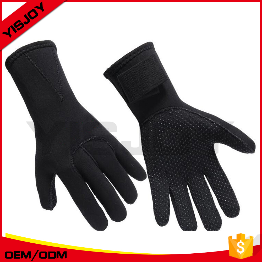 custom kevlar dive gloves neoprene surf gloves underwater snorkeling full finger gloves