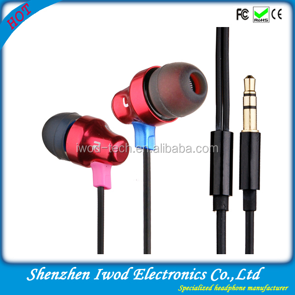 2014 Thanksgiving Day gifts stylish sport headphone with microphone and volume control for Mp3,mobile phone