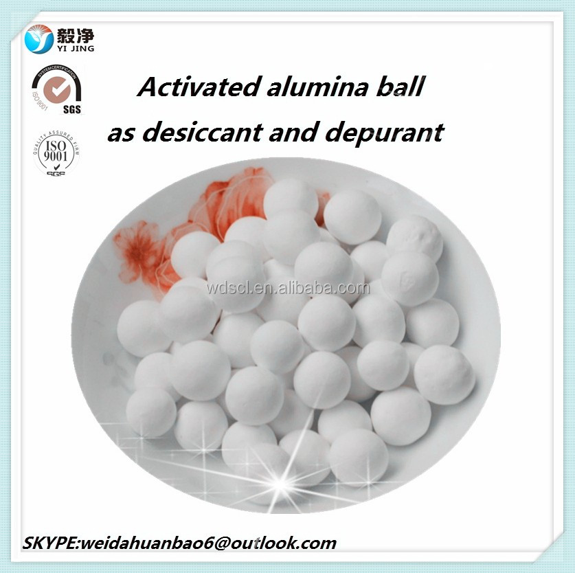 18-99% activated alumina ball,water desiccant ,drying agent