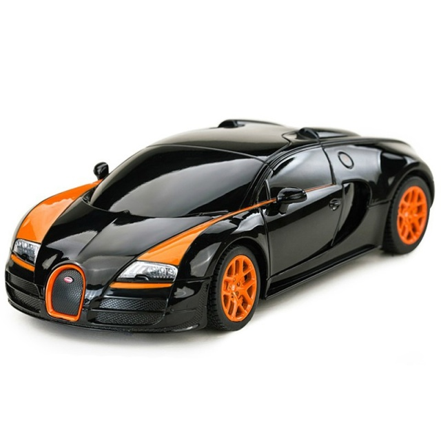 2016 New Licensed Rastar 1:24 Mini RC Cars Electric 4CH Remote Control Toys Radio Controlled Bugatti Grand Sport Vitesse 47000