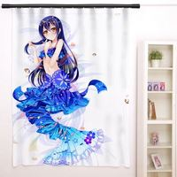 New Sonoda Umi - Love Live Anime Japanese Window Curtain Door Entrance Room Partition H0155