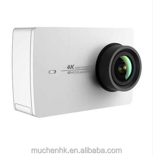 "Xiaomi Authorized Global Dealer 12MP CMOS 2.19"" WIFI Video Recording 155 Degree EIS LDC YI 4K Action Camera"
