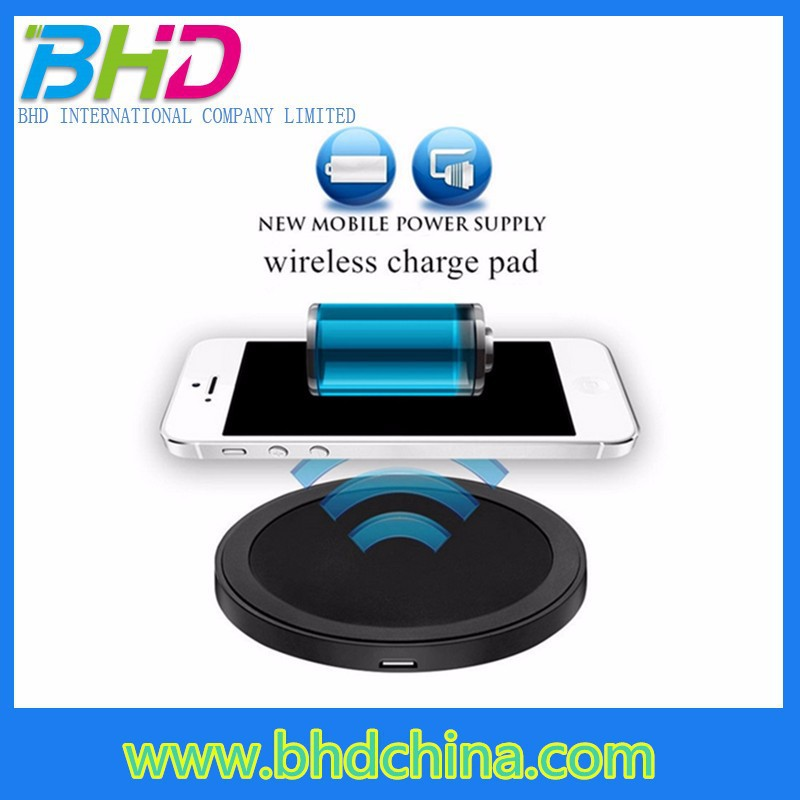 New product 3 coils wireless mobile charger mini project for htc desire hd